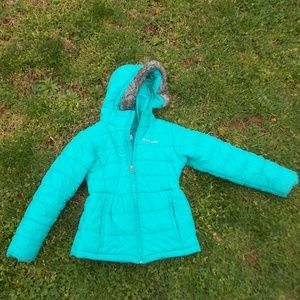 Columbia Youth Girls Puffer Jacket Size Small